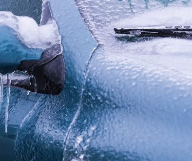 How to deal with ice on your car